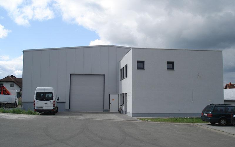 Produktionshalle Metallbau Batzel
