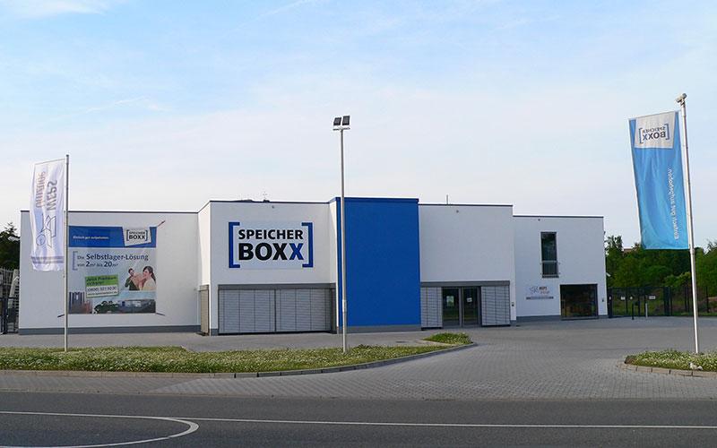 Neubau Speicherboxx in Gießen