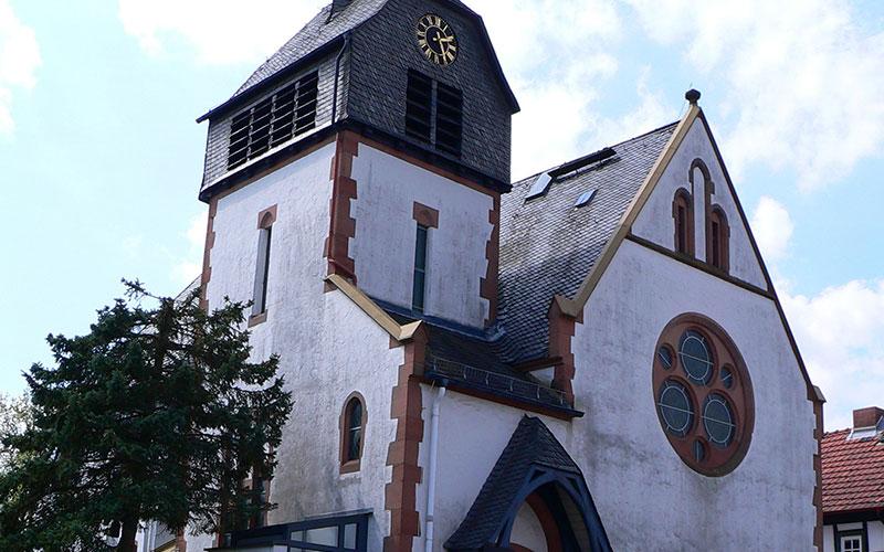 Fassadensanierung ev. Kirche Fellingshausen