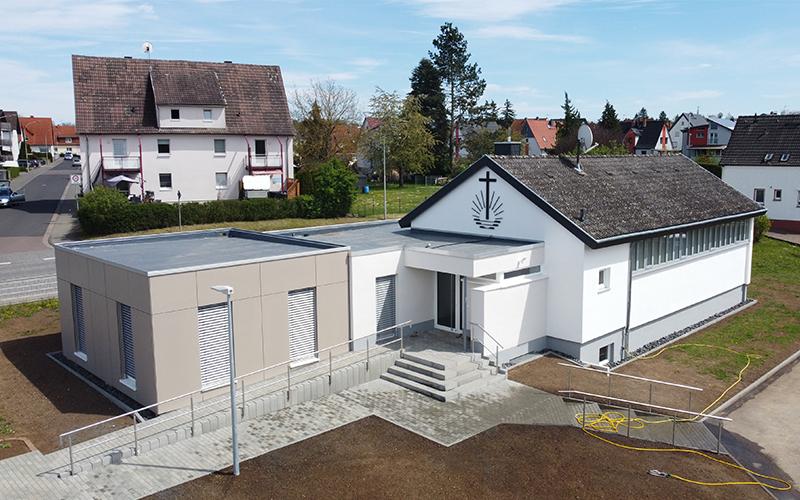 An- / Umbau Gemeindekirche Hungen